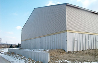 PROJECT DETAILS & Lehigh Township Salt Storage Shed | Hanover Engineering